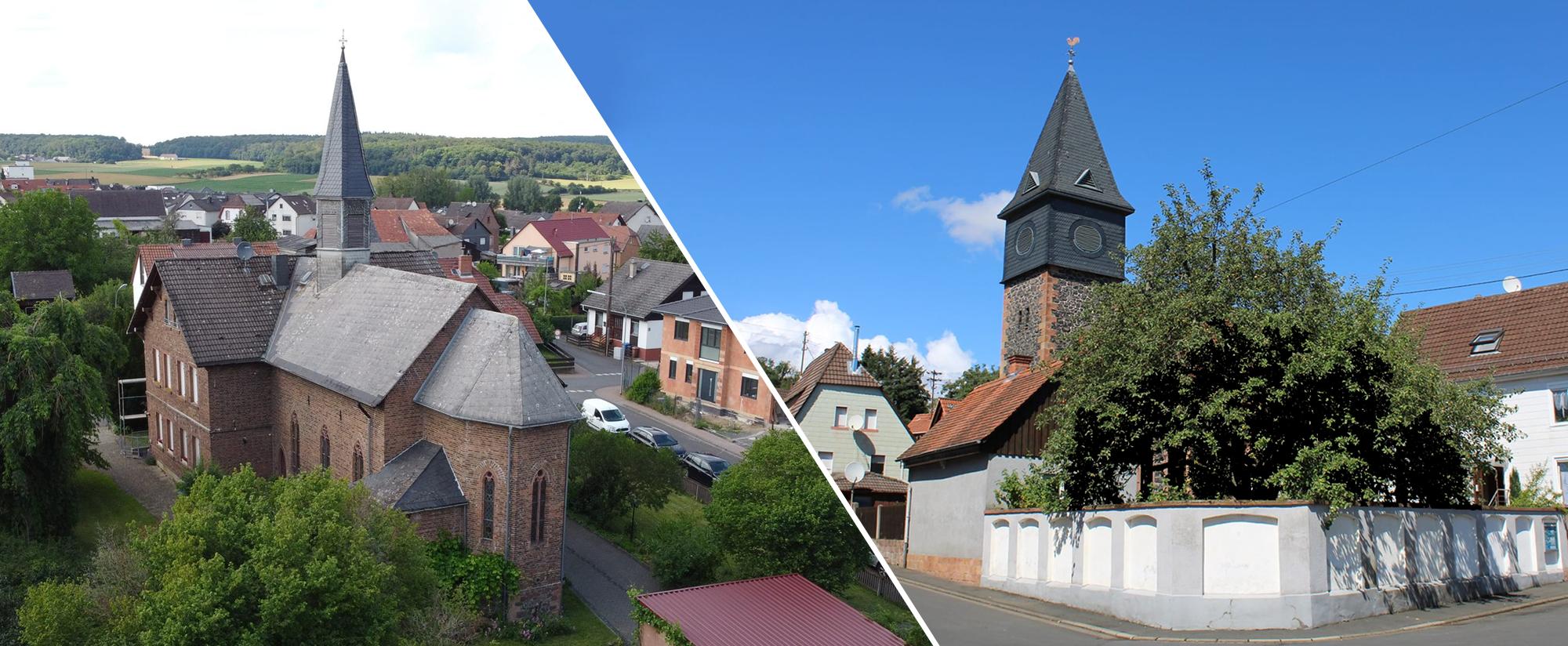St. Martins Gemeinde Höchst a.d. Nidder | St. Simon-Judae Gemeinde Usenborn